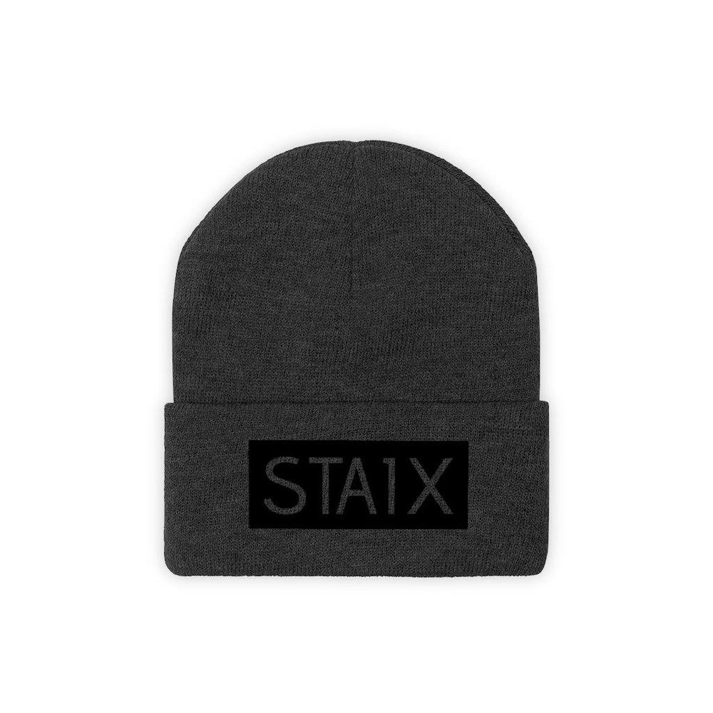 OG BOX LOGO Beanie Hats Printify Black One size