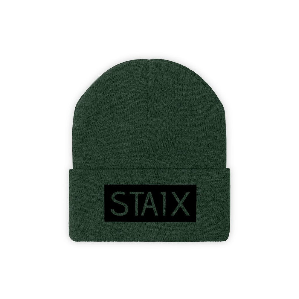 OG BOX LOGO Beanie Hats Printify Forest Green One size