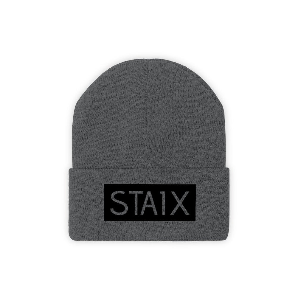 OG BOX LOGO Beanie Hats Printify Graphite Heather One size