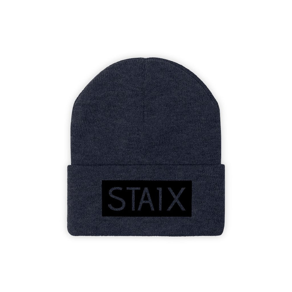 OG BOX LOGO Beanie Hats Printify True Navy One size