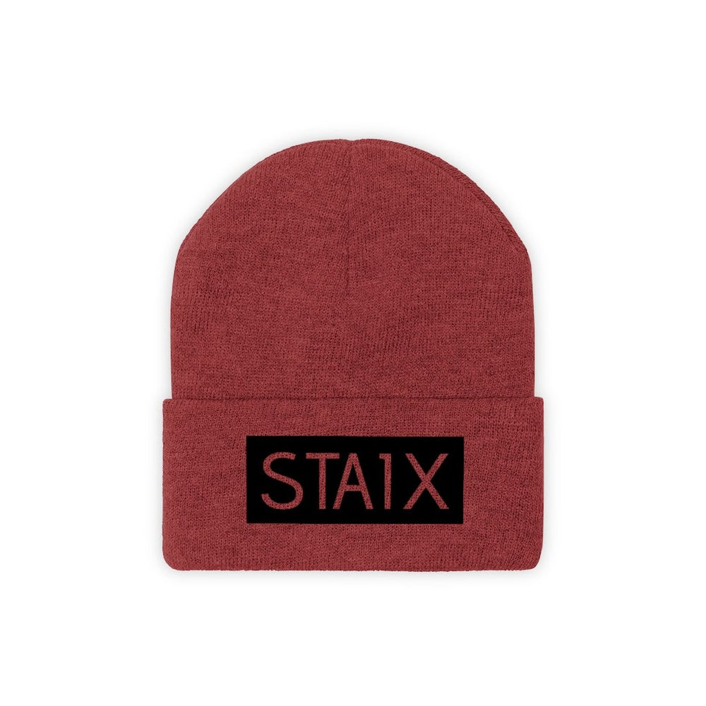 OG BOX LOGO Beanie Hats Printify True Red One size