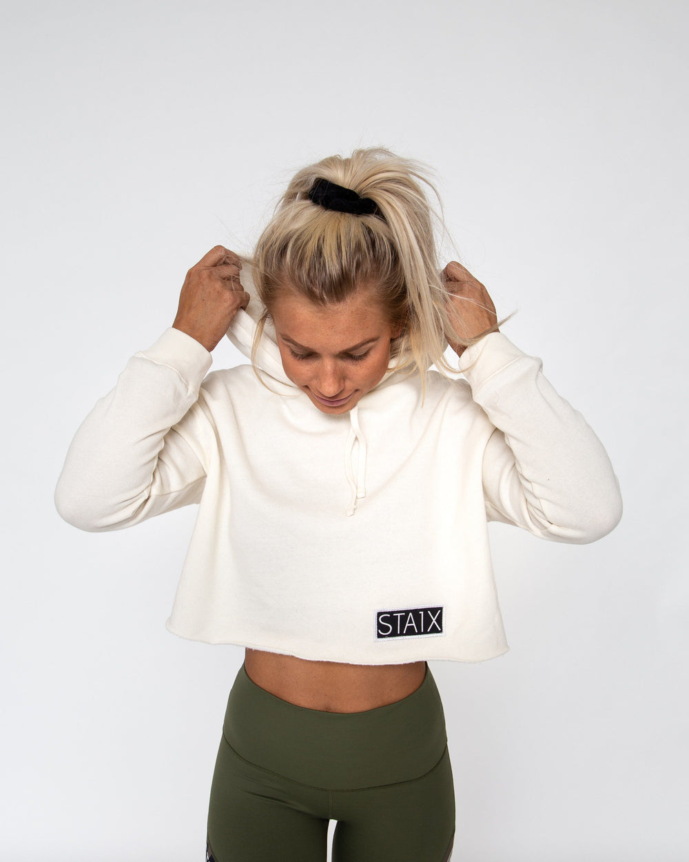 PACE CROP TOP WOMEN'S CROP TOP STAIX XSMALL CREME