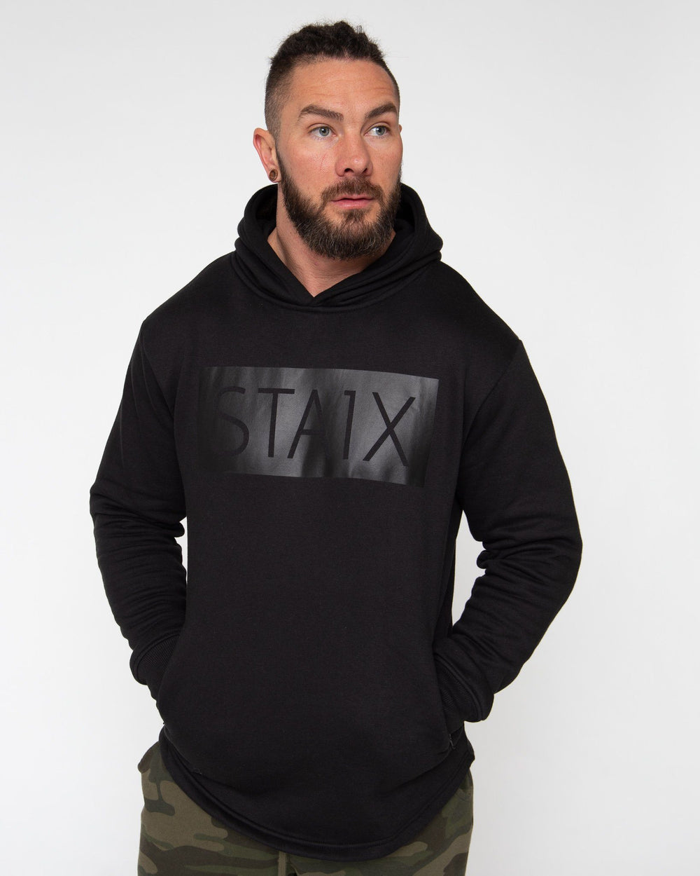 PROTEC HOODIE STAIX SMALL BLACK