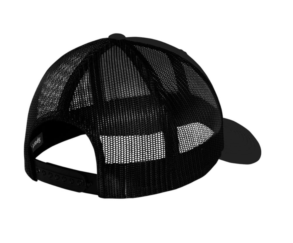 RUGGED CURVED HAT - BLACK HEADWEAR STAIX