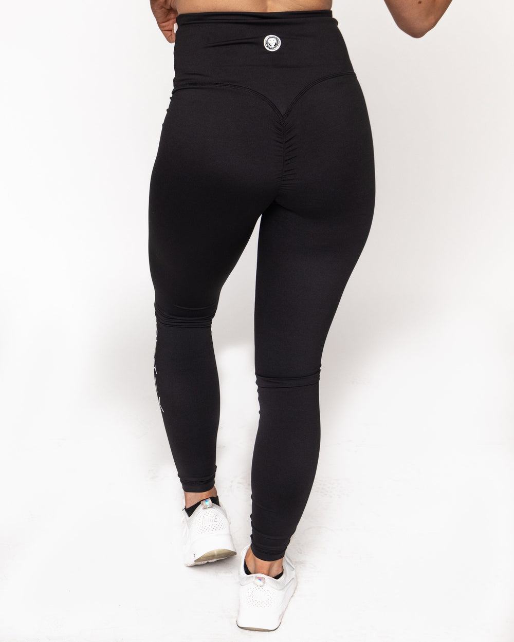 Scrunch Leggings - Black WOMEN'S LEGGINGS STAIX