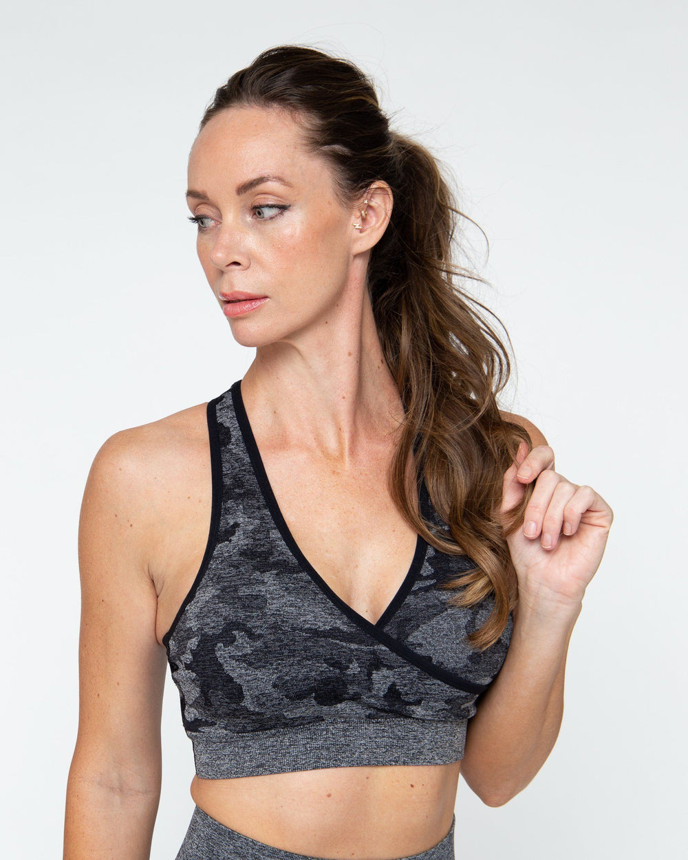 SHADOW CAMO SPORTS BRA STAIX XSMALL