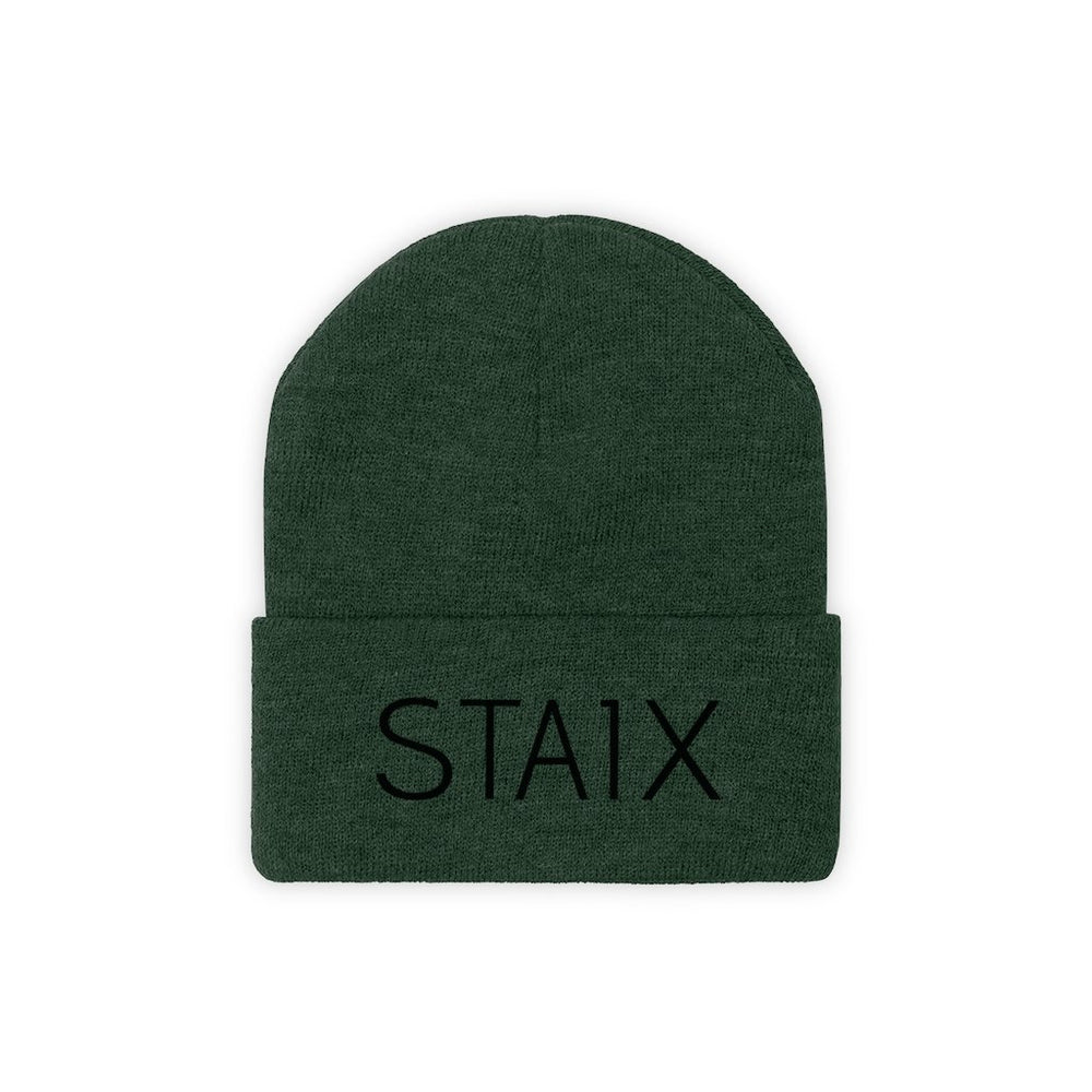 STAIX Beanie Hats Printify Forest Green One size
