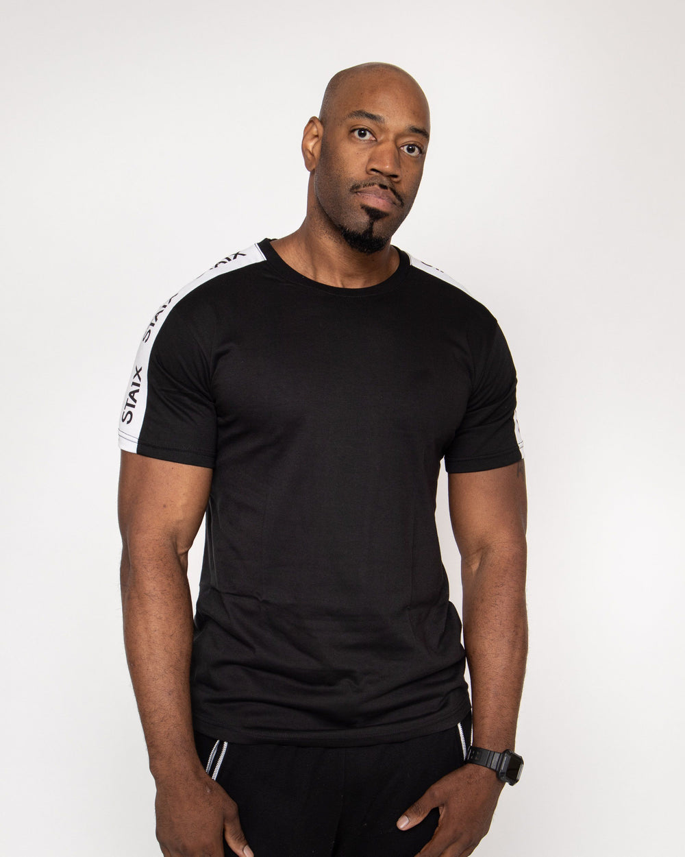 STAIXED Tee - Black Men's STAIX Tee STAIX