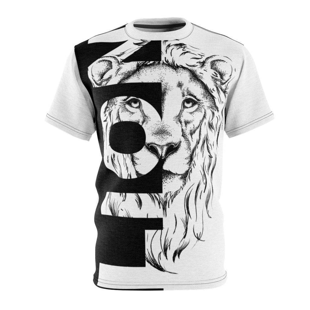 The Lion King Tee All Over Prints Printify 4 oz. Black Seams L