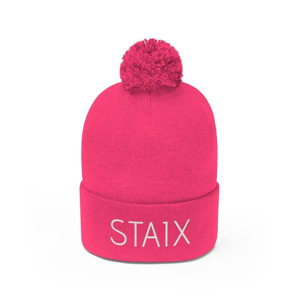The Pom Beanie Hats Printify