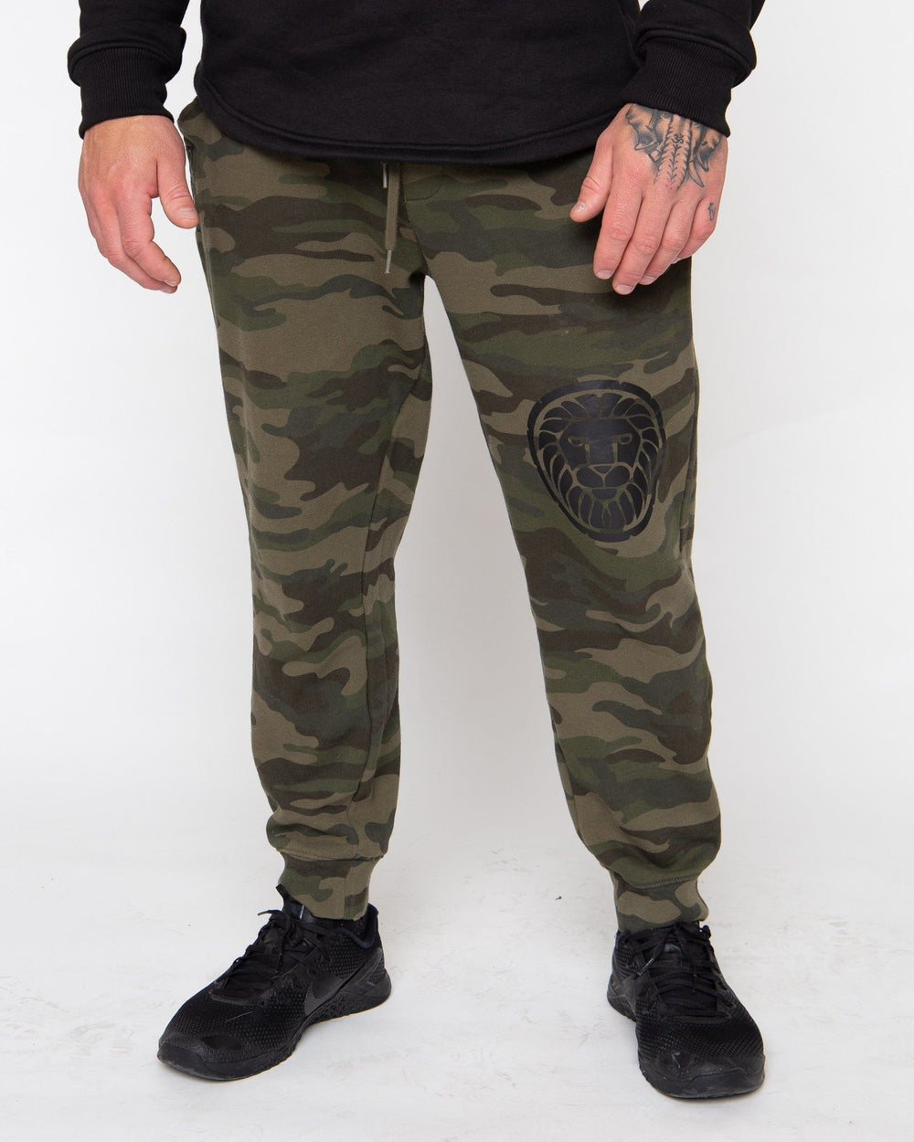 TRAINER SWEATS STAIX XS GREEN CAMO