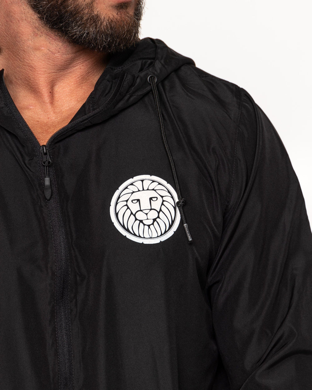 Trainer Windbreaker - Black MEN'S WINDBREAKERS STAIX