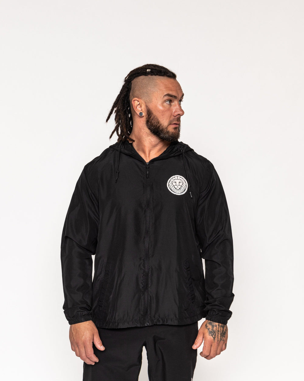 Trainer Windbreaker - Black MEN'S WINDBREAKERS STAIX M