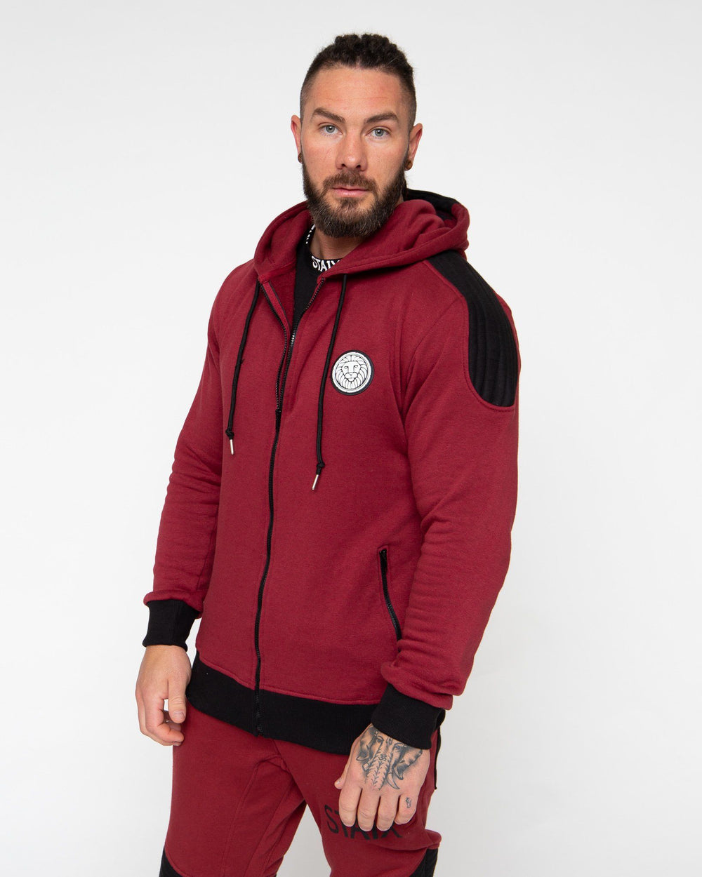 VALOR JACKET STAIX SMALL RED/BLACK