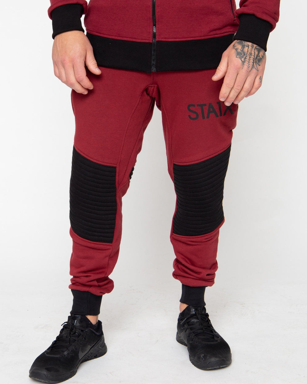 VALOR SWEATS STAIX SMALL RED/BLACK