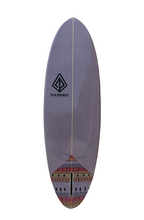 "Load image into Gallery viewer, Paragon Retro Egg 6'6"" EggPlant Surfboard"