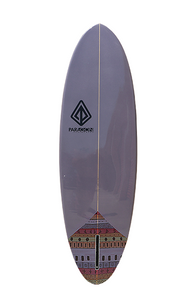 "Paragon Retro Egg 6'6"" EggPlant Surfboard"
