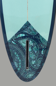 "Paragon Retro Egg 6'6"" SeaWeed Surfboard"