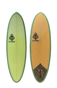 "Paragon Retro Egg 6'6"" Squash Surfboard"