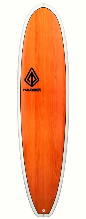 Paragon Surfboards 7'8 Mini Log - Woody