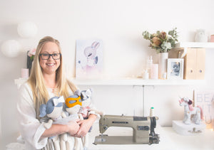 Meet the Maker of RubyBabyDesigns Keepsake Collective