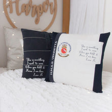 "Load image into Gallery viewer, Memories in Threads - ""Cory"" Classic Plain Pillow"