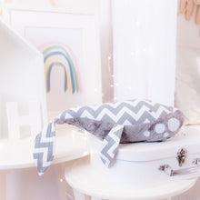 Load image into Gallery viewer, RubyBabyDesigns Keepsake Collective Wyatt the Whale, heirloom keepsake, decor, gift, whale, grey, minky,  white, fins, tail. Handmade in Melbourne, created using environmentally friendly PET fill.