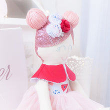 "Load image into Gallery viewer, Memories in Threads - ""Luxe Ballerina"" Heirloom Cloth Doll Collection"