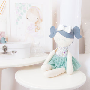 """Classic"" Ballerina Modern Heirloom Cloth Doll - Enchanted"
