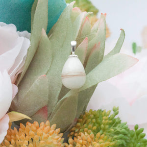 "Memories in Threads - Tansy ""Tear drop"" Pendant"