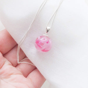 "Memories in Threads - ""Breast Cancer Awareness"" Charity Pendant"