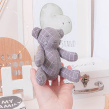 "Load image into Gallery viewer, Memories in Threads - Mini Mee ""Biscuit"" Bear Heirloom Cloth Doll Collection"