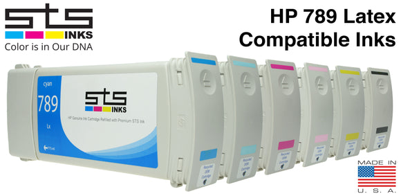 HP 789 Latex Inks Replacement Cartridge 775mL (L25500)