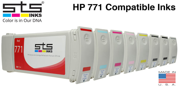 HP 771 Replacement Ink (775mL): Z6200 / 6800