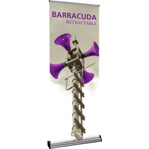 Barracuda 800 Premium Retractable Banner Stand