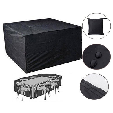 Large Furniture Cover Outdoor Garden DustProof Waterproof Thick Heavy-duty Storage Bags Adjustable Drawstring Secures Cover