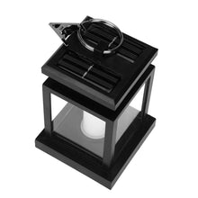Load image into Gallery viewer, Waterproof Solar LED Light Hanging Lantern Candle Lamp For Garden Decoration
