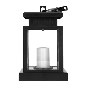 Waterproof Solar LED Light Hanging Lantern Candle Lamp For Garden Decoration