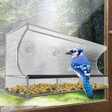 Load image into Gallery viewer, Solar Window Bird Feeder