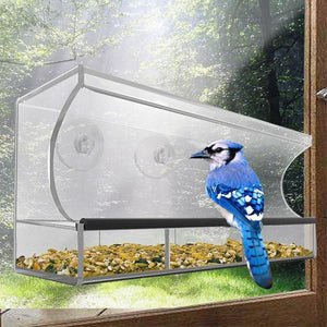 Solar Window Bird Feeder