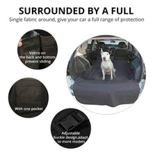 Load image into Gallery viewer, Partol Oxford Fabric Pet Car Seat Covers Waterproof Dog Car Trunk Mat for SUV Travel Accessories Auto Mat Car Trunk Protector