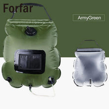 Load image into Gallery viewer, 20L Solar Outdoor Camping Shower Bag