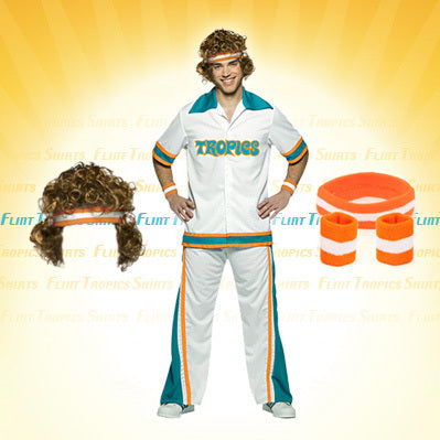 Flint Tropics Semi-Pro Warm-Up Suit Set