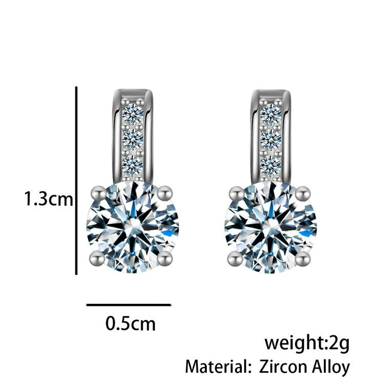 Vivina Store | BEST DEALS | Christmas Gifts | BEST GIFTS |Thanksgiving | BEST PRICES | Black Friday | BUY NOW | Shopping | Online shopping | Get yours TODAY | Silver Crystal Earring