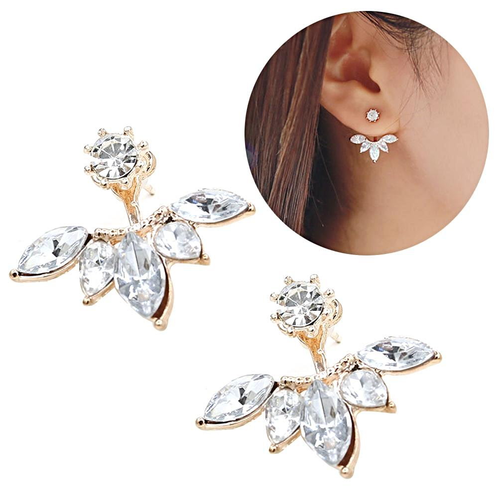 Vivina Store | BEST DEALS | Christmas Gifts | BEST GIFTS |Thanksgiving | BEST PRICES | Black Friday | BUY NOW | Shopping | Online shopping | Get yours TODAY | Zircon Daisy Leaves Earrings