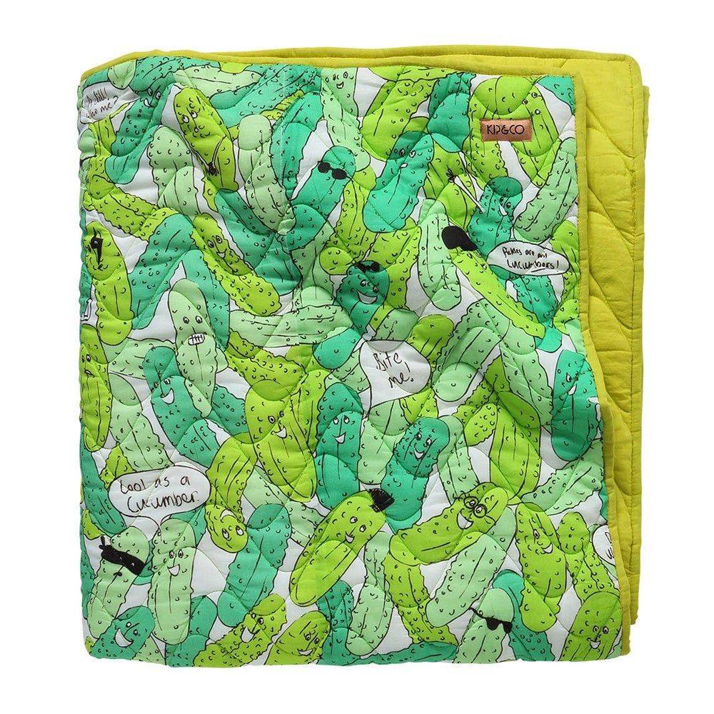Kip & Co - In a Pickle Quilted Comforter - Cot