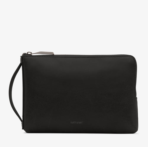 Matt & Nat - Large Seva Vintage Wallet - Black