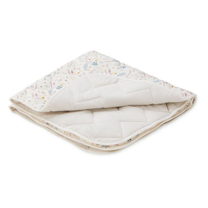 Cam Cam Baby Blanket Pressed Leaves- Rose