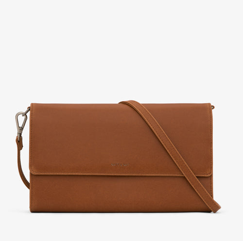 Matt & Nat - Drew Vintage Crossbody Bag - Chili Matte