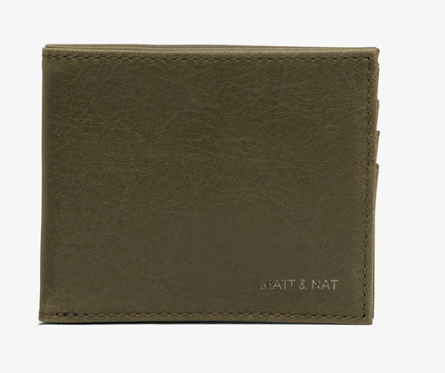 Matt & Nat - Rubben Men's Wallet - Olive